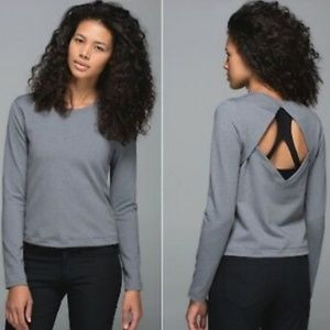 Lululemon Back Up Long Sleeve Sweatshirt